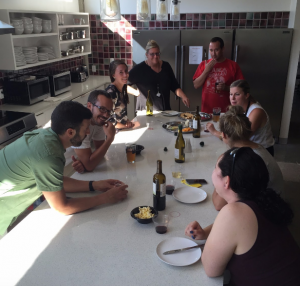 Wine and Cheese Member Activity July